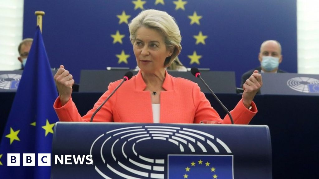 EU must step up and build defence – von der Leyen