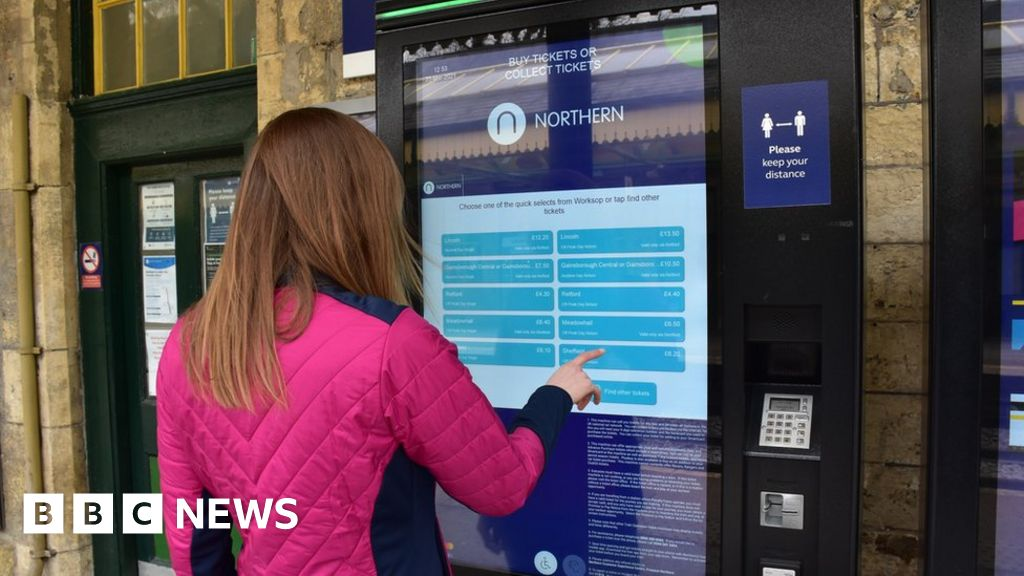 It comes just two months after 621 of the touch-screen units were installed at 420 stations across the north of England at a cost of £17m. The govern