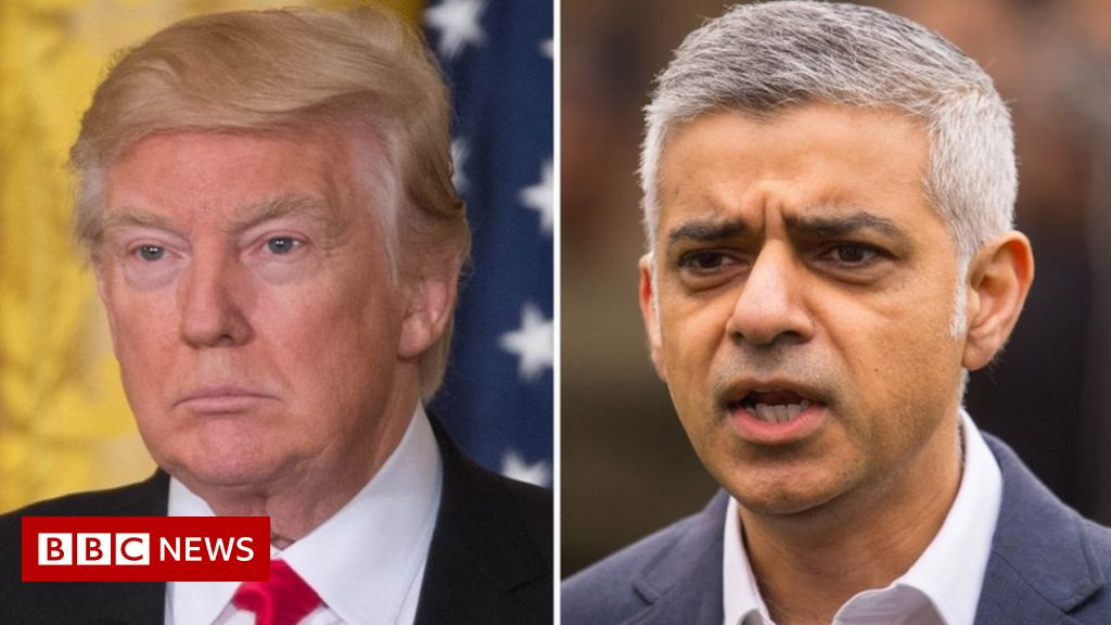 Trump hits out again at Khan over violence thumbnail