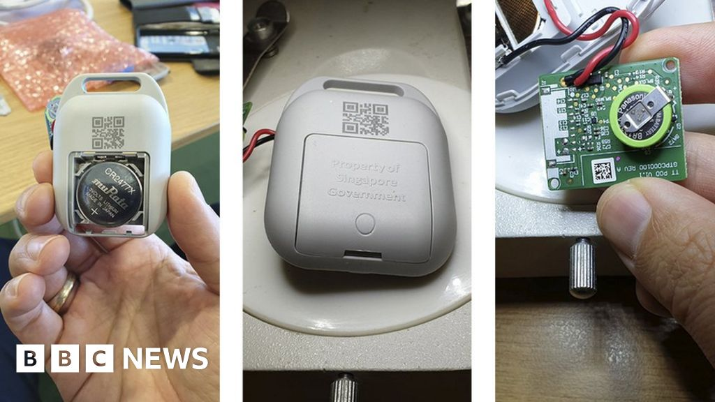 Coronavirus: Why Singapore turned to wearable contact-tracing tech - bbc