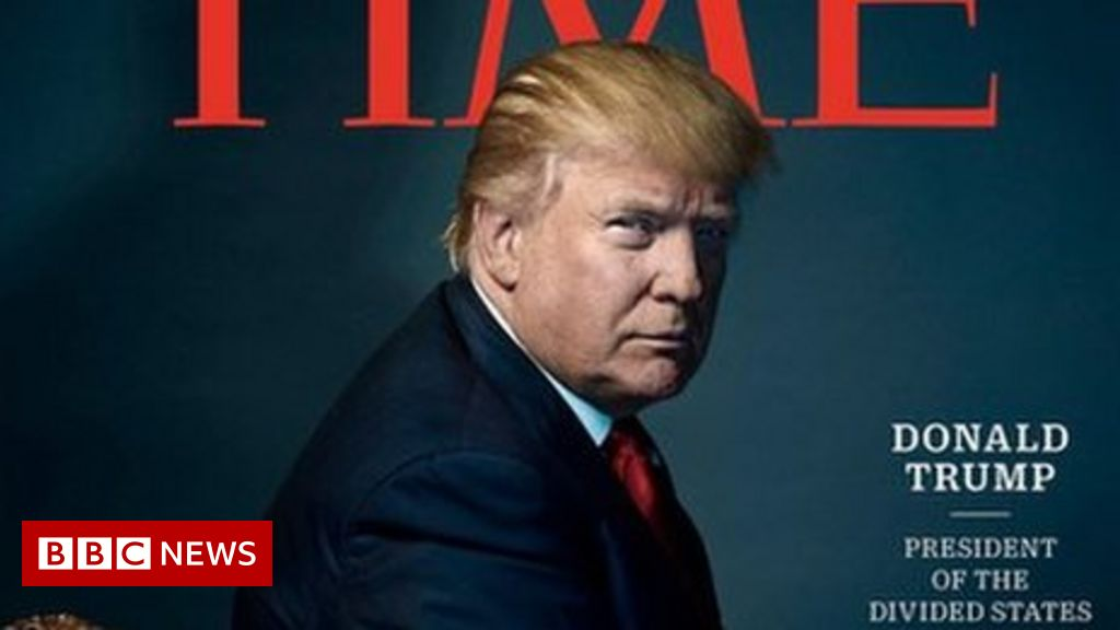 Donald Trump Is Time Magazine S Person Of The Year Bbc News