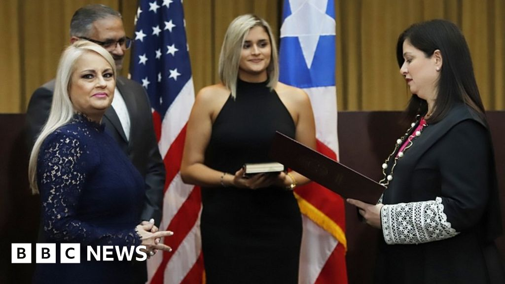 Puerto Rico swears in new governor thumbnail