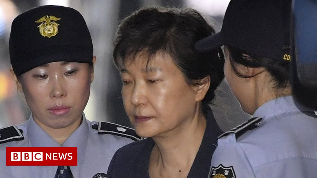 Park Geun-hye: South Korea's ex-leader jailed for 24 years for corruption