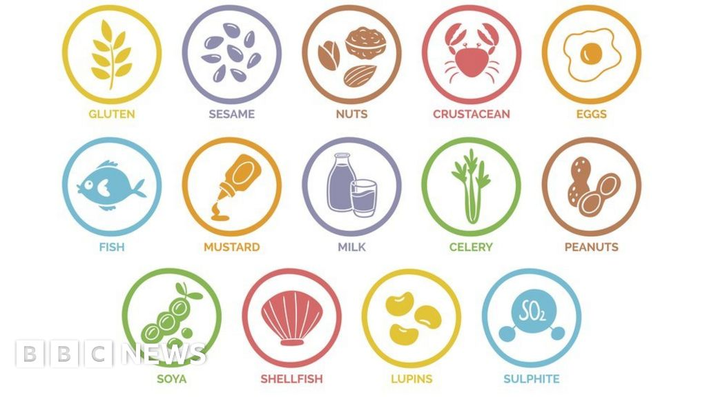 What do restaurants, to help customers with allergies?