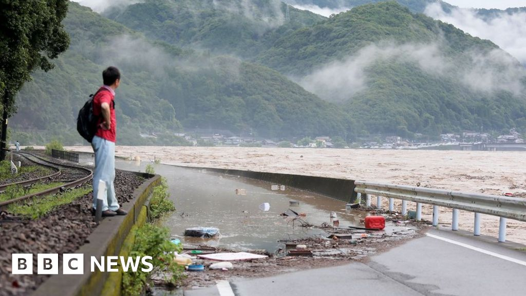 Japan flooding: Many feared dead in flooded care home - Trends Wide