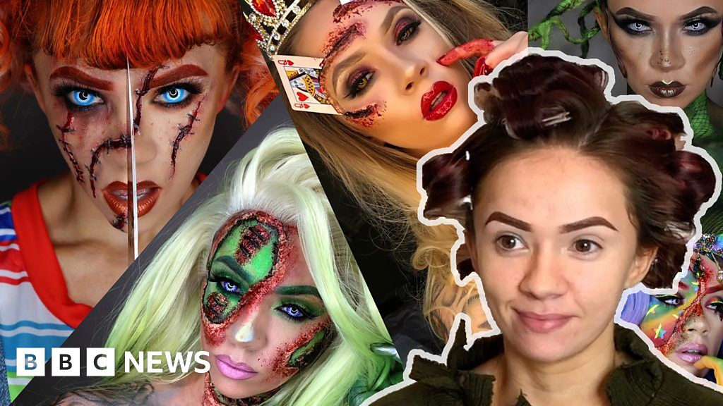 The make-up artist who's gone on the school run as Freddy Krueger thumbnail