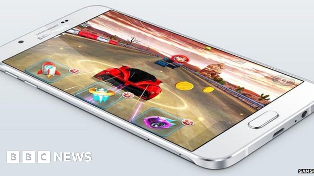 Samsung Galaxy A8 is Samsung's slimmest ever phone - BBC News