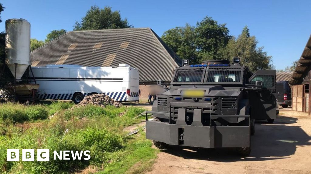 Cocaine lab found in Dutch former riding school