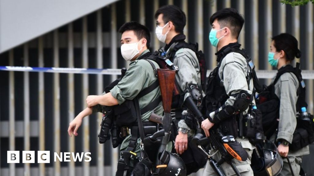 HK ramps up security ahead of anthem bill reading