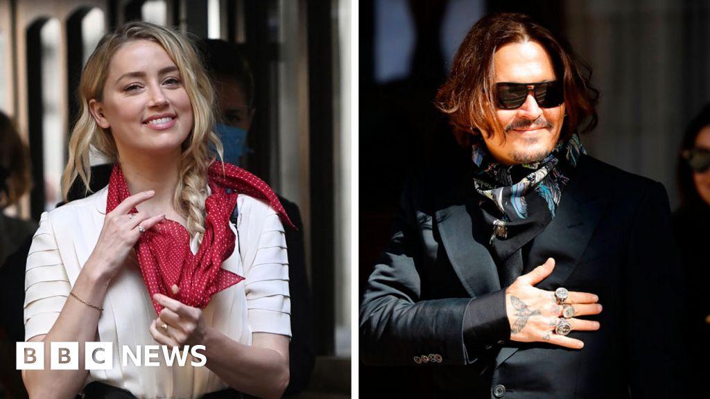 Amber Heard Johnny Depp Threatened To Kill Me Many Times Bbc News