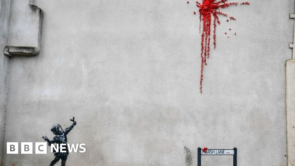 Banksy confirms Valentine's Day artwork is his