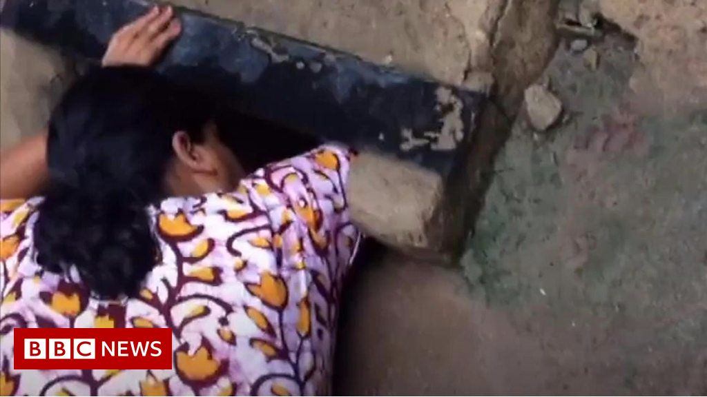 Newborn rescued from Indian drain thumbnail