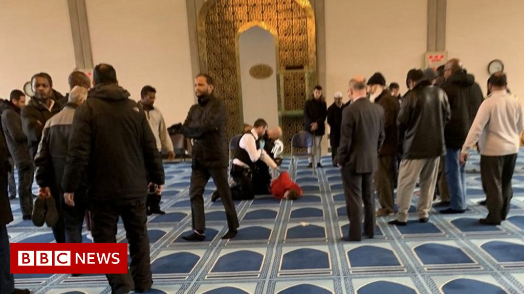 Man charged over stabbing at London mosque