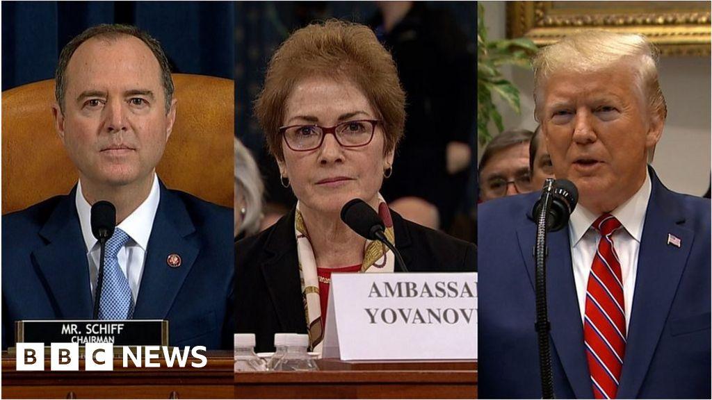 Trump's live-tweets interrupt hearing