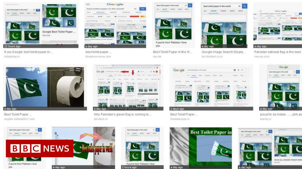 Pakistan flag tops toilet paper searches
