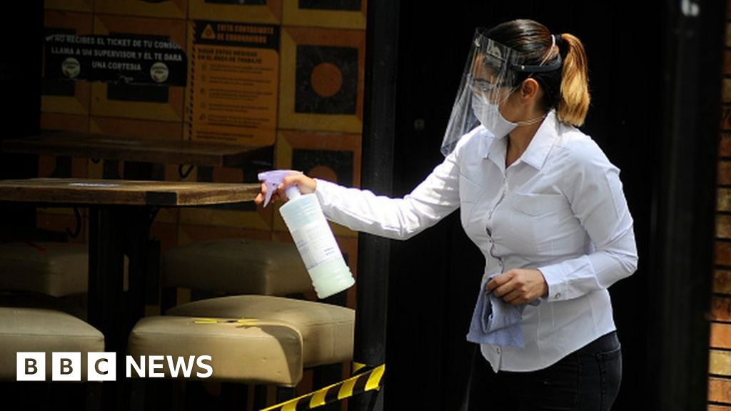 Coronavirus: Mexico's death toll passes 30,000 - BBC News