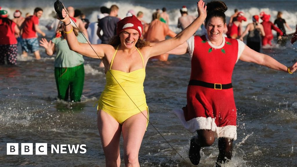 Covid: Festive charity dips cancelled due to pandemic thumbnail