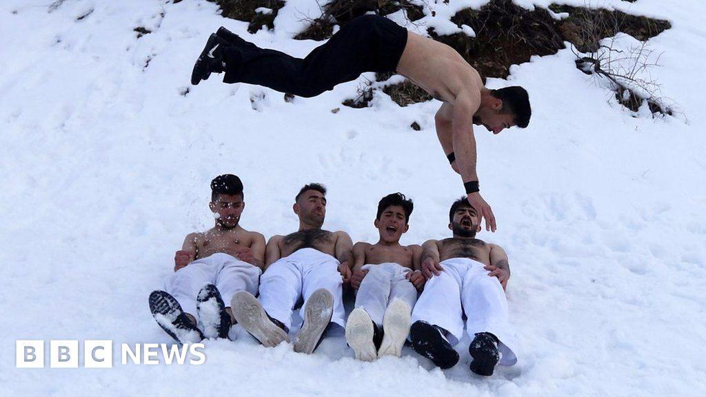 Iraq's karate kids train in the snow