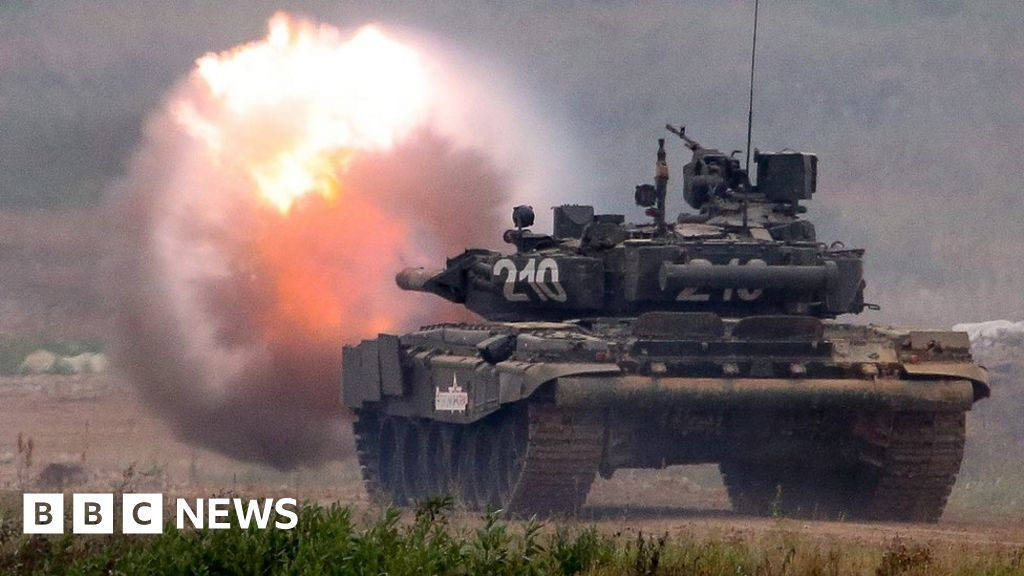 Russia gears up for biggest war games since Cold War