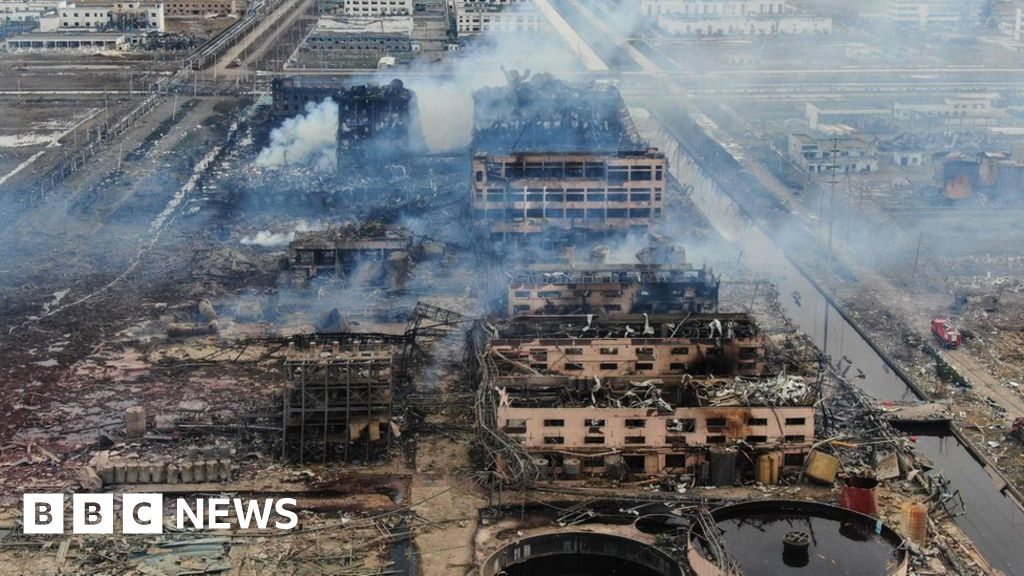China chemical blast: Survivor found but toll rises again