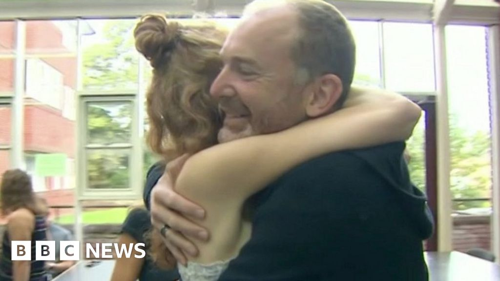A-levels: Students celebrate results - BBC News