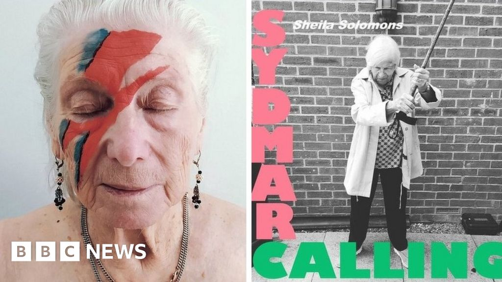 Care home residents recreate classic LP covers