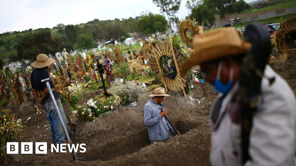 Mexico's virus death toll world's third highest
