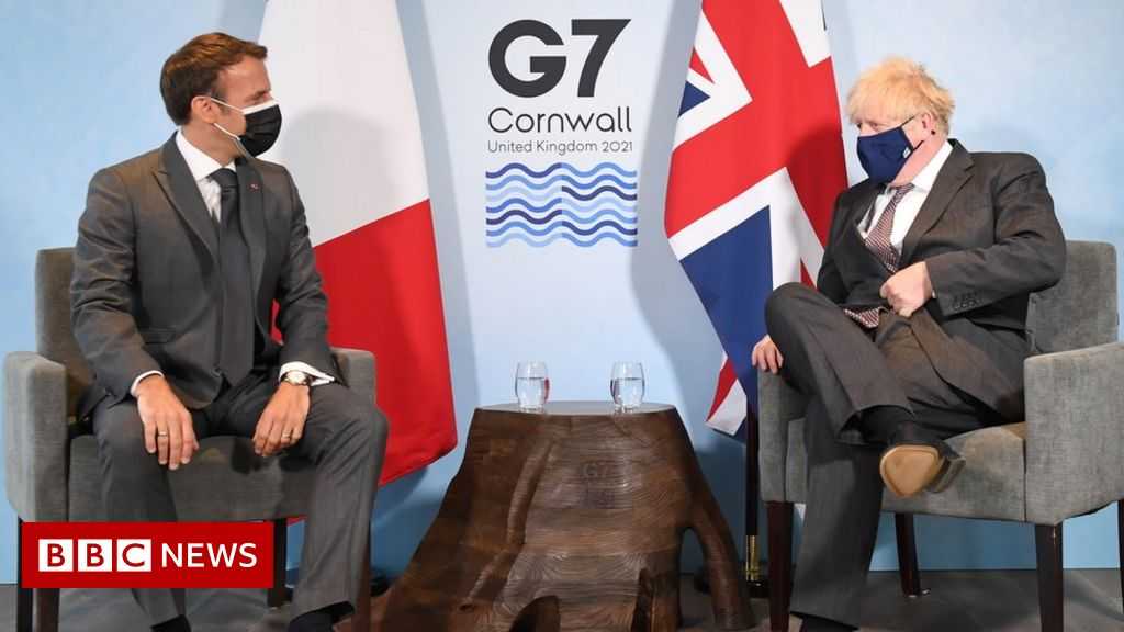 G7 summit: Dominic Raab calls Emmanuel Macron's Northern Ireland comment 'offensive'