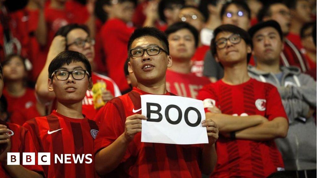 Fifa investigates Hong Kong over China match booing