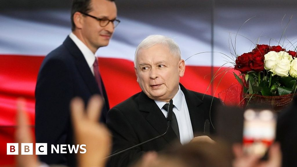 Poland election: ruling law and justice party win the poll