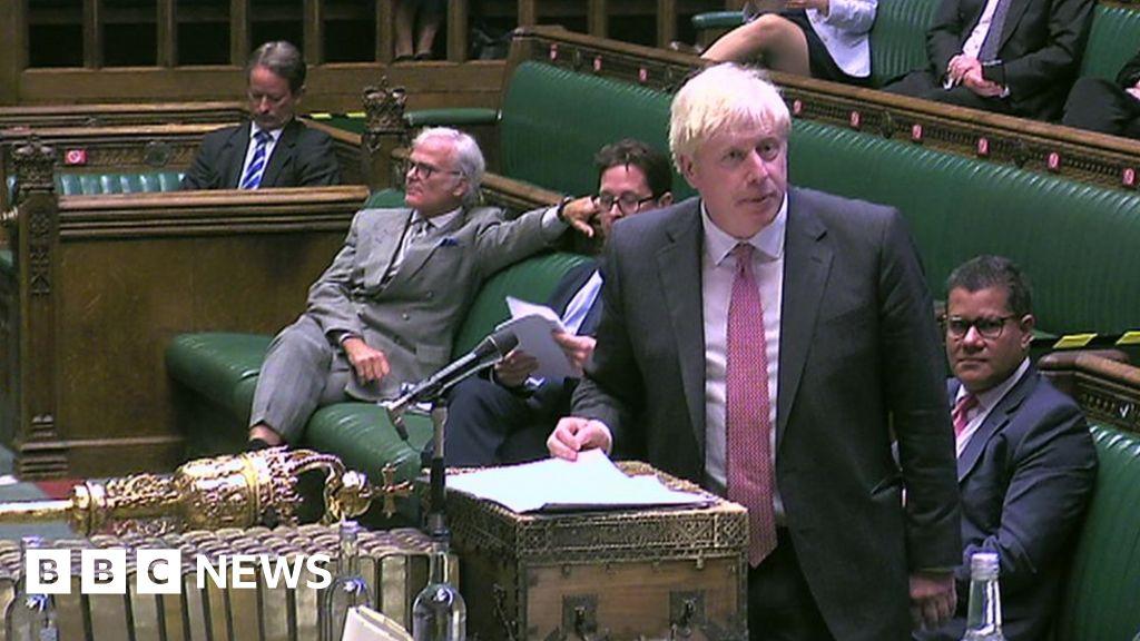 Brexit: Boris Johnson says powers will ensure UK cannot be  broken up