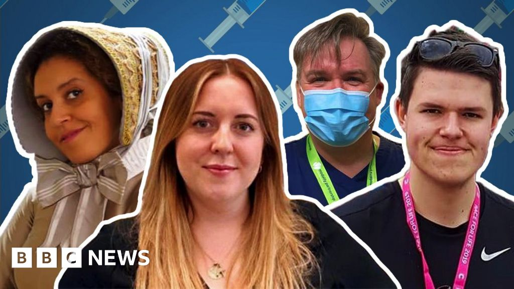 Vaccine volunteers: 'It's felt good to fight back against Covid'