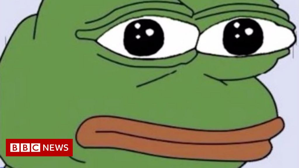 Infowars To Pay Pepe Cartoon Creator 15 000 Bbc News