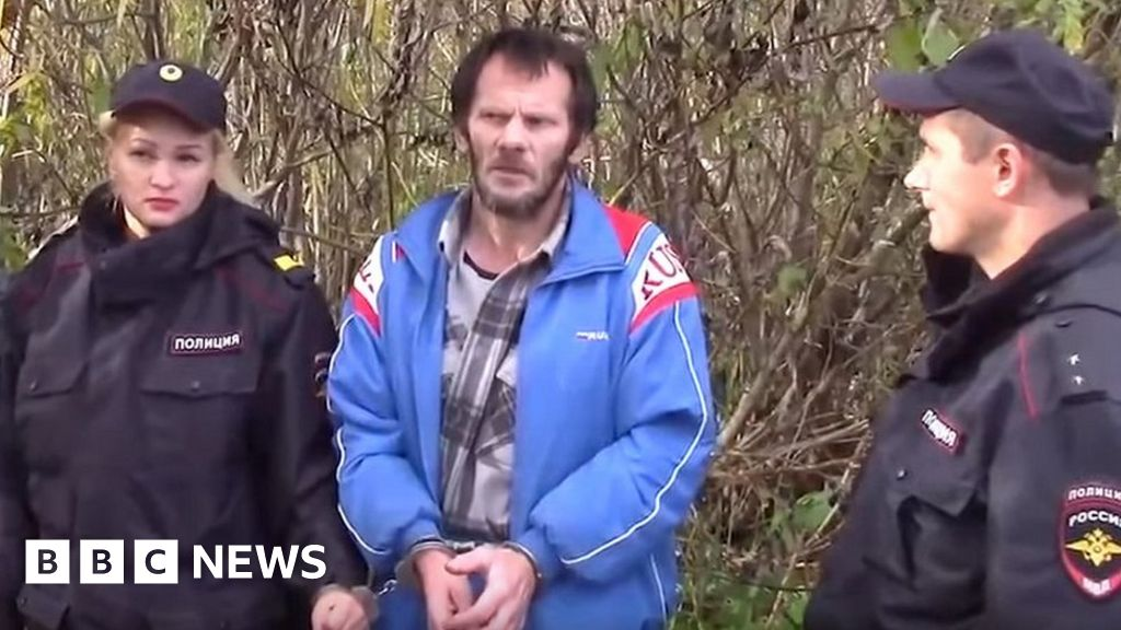 Russian 'cannibal' charged after human and animal remains found