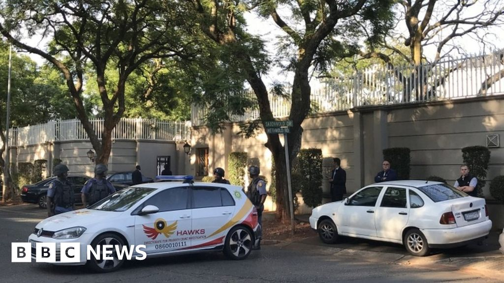 Gupta home raided by South Africa police
