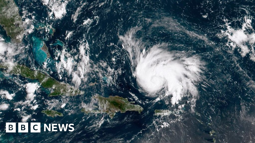 'Absolute monster' hurricane churning to Florida
