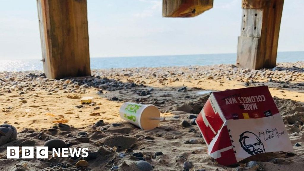 'The sheer amount of beach rubbish is colossal'