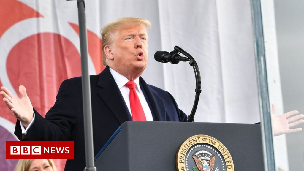 Trump makes history attending anti-abortion rally