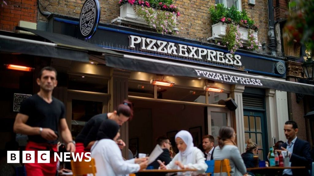 Pizza Express Were Still Making Dough Bbc News