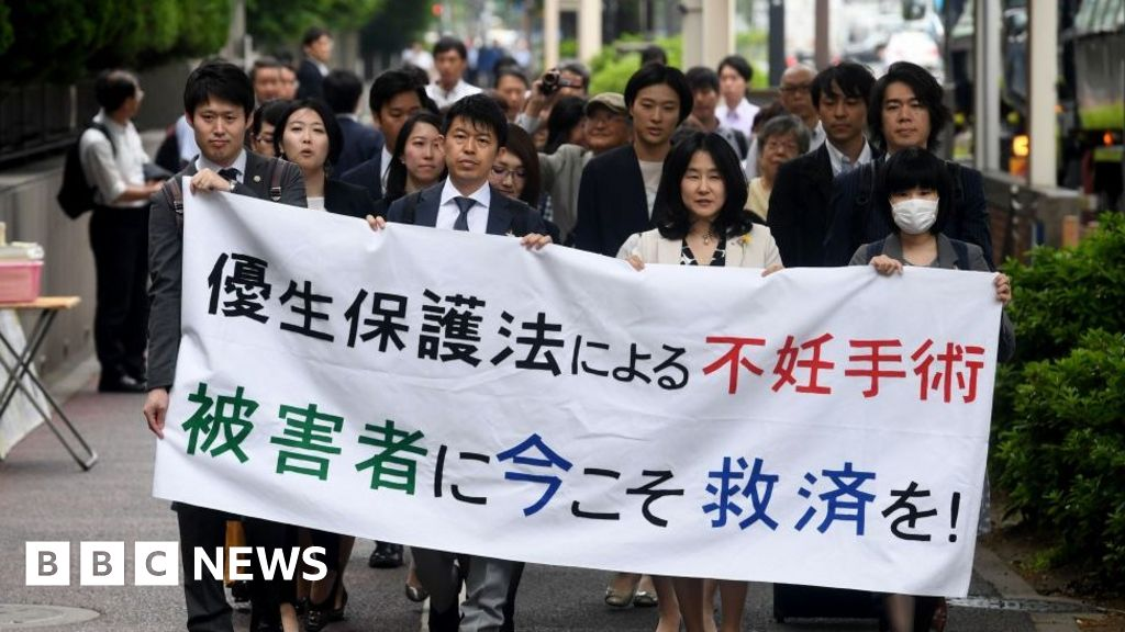 Japan sterilisation law victims get compensation and apology