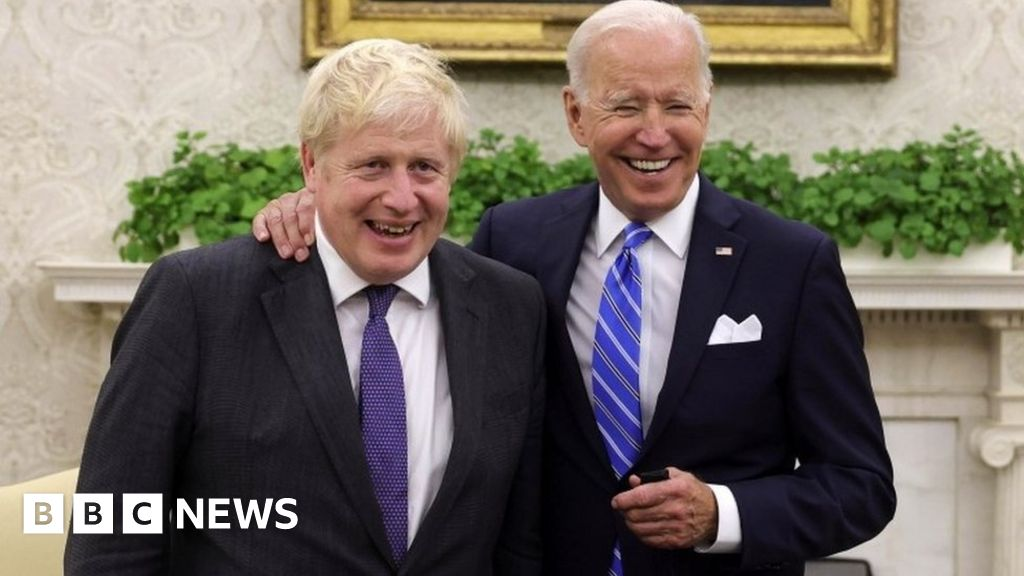 Johnson and Biden: Contrasting characters do business