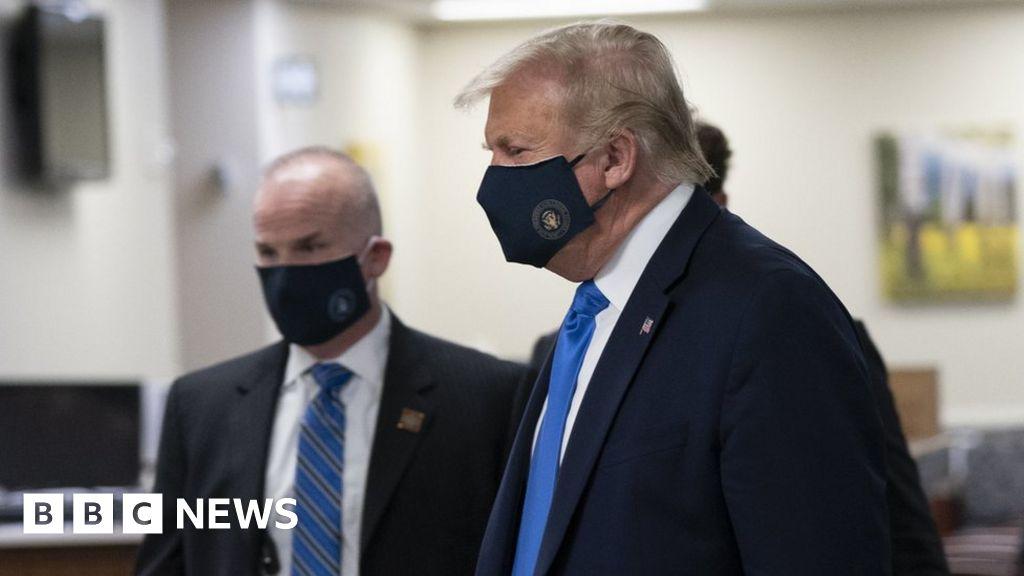 Coronavirus: Donald Trump vows, not the Americans wearing masks