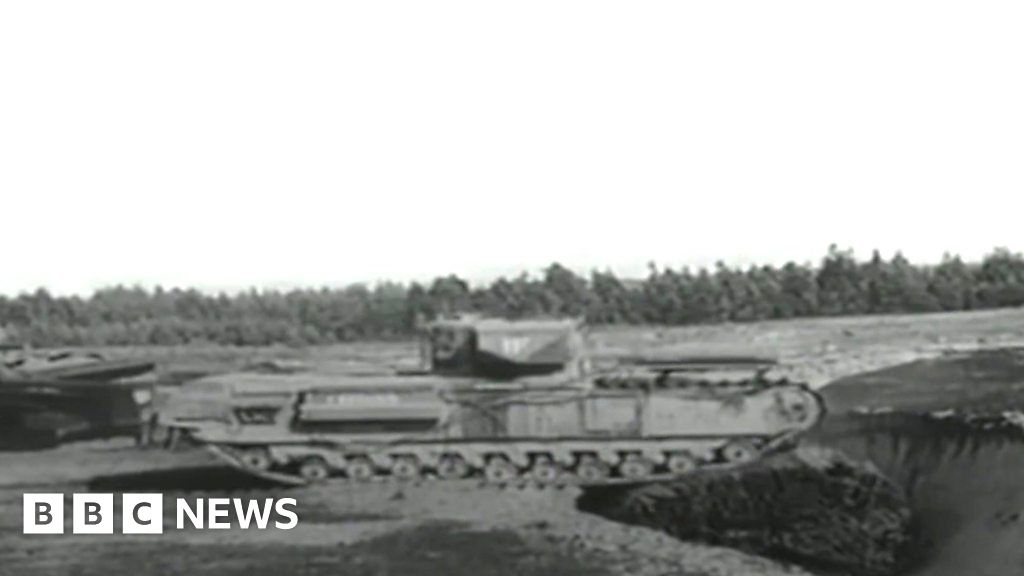 Percy Hobart's Funnies: The man behind the unusual tanks of