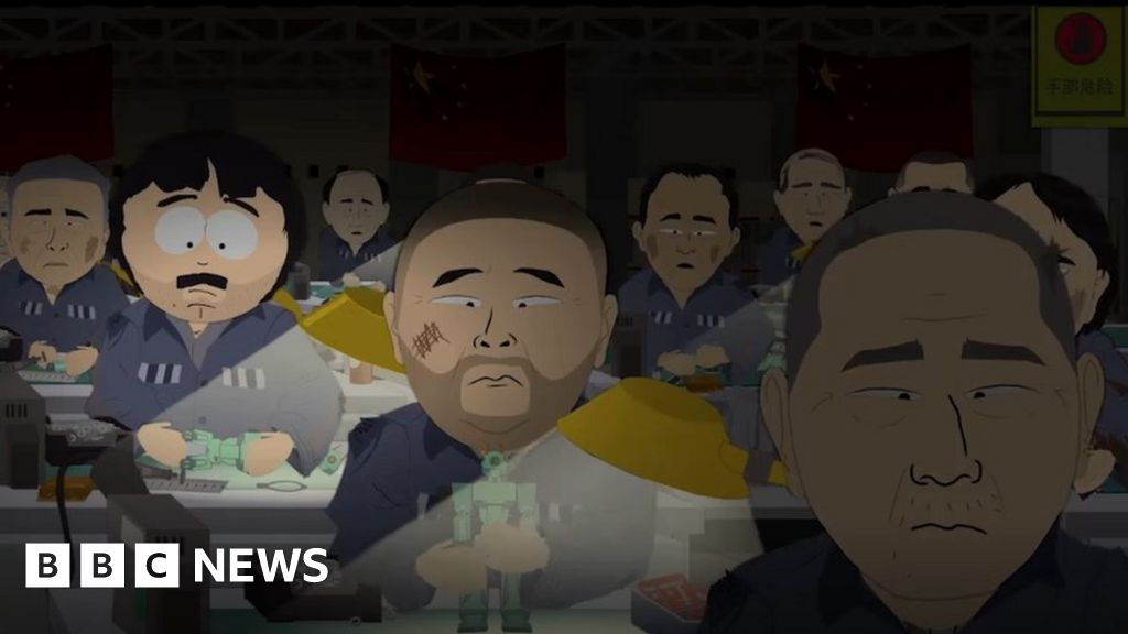 South Park China: Writers 'apologise' after Beijing censorship