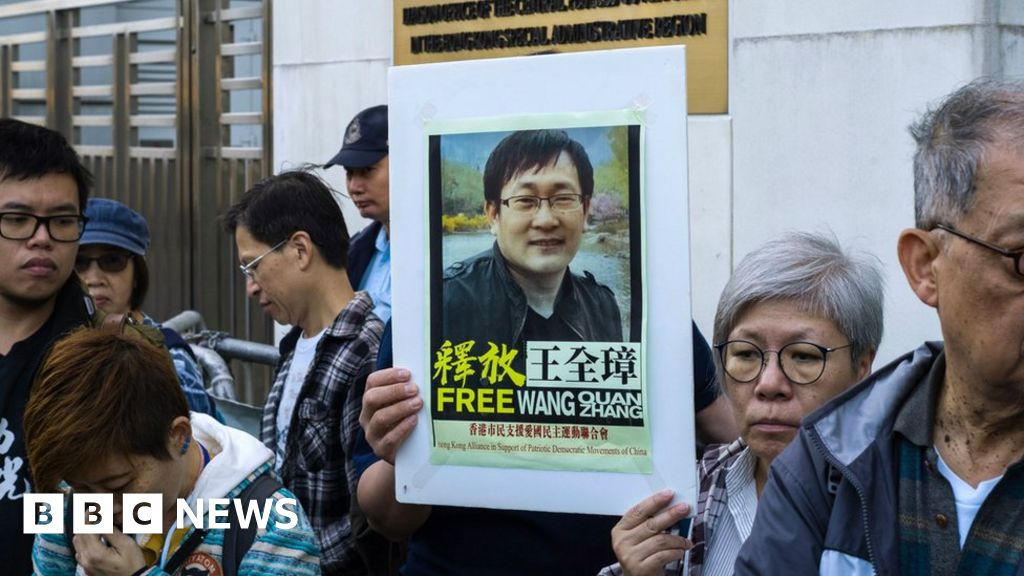 China releases jailed human rights lawyer