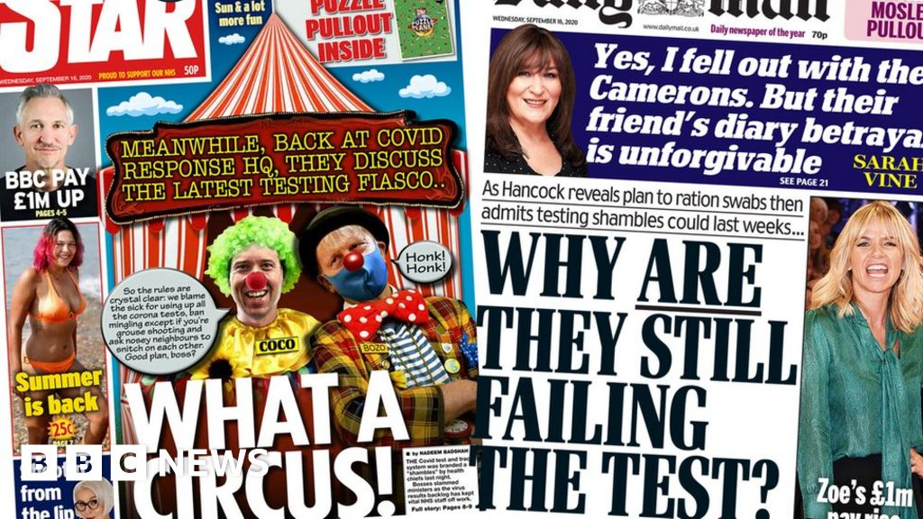 The Papers: Testing 'circus' as Hancock says it may last weeks thumbnail