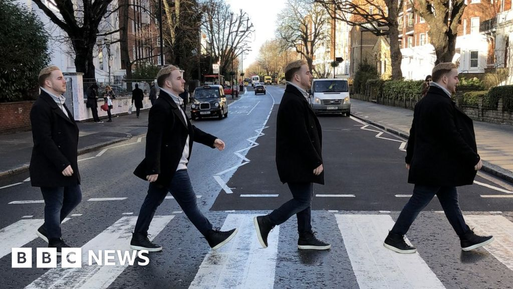 Abbey Road: 50 years of the Beatles  famous album cover