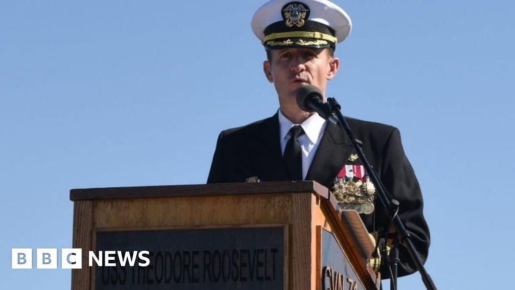 Coronavirus: US Navy removes captain Brett Crozier, the alarm is triggered
