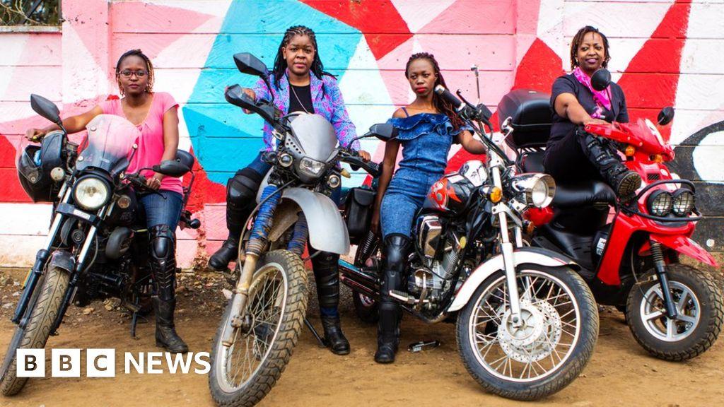 'Born to be wild': Kenya's female biker gang