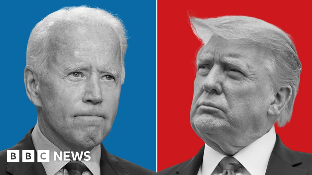 Us Election 2020 What Do Polls Say About Trump V Biden Bbc News